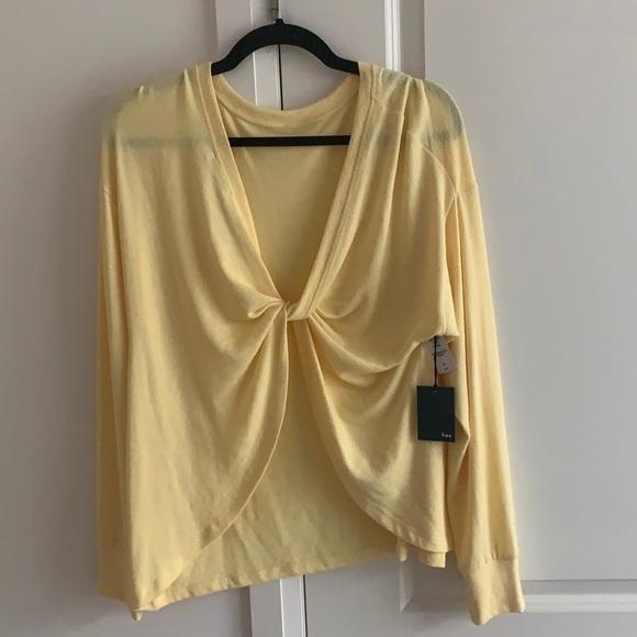 Wilfrid Alena Top (Yellow)